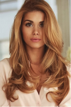 Go for a seasonal change with a semi-permanent soft amber blonde.