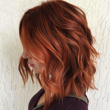 Pretty as a penny with this classic copper tone.